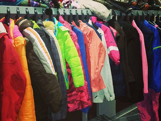 The efforts of our collection of winter wear to support our homeless program at GRPS.